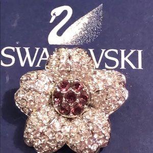 Authentic Swarovski Brooch